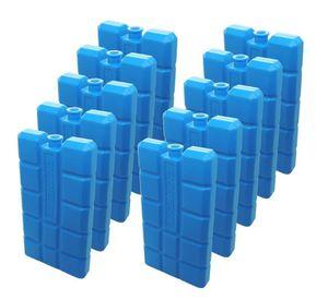 10 Kühlakkus NEMT Kühlelemente für Kühltasche oder Kühlbox je 200ml 12 h Kühlpack