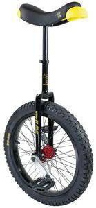 QU-AX Muni Starter Einrad Kinder schwarz Laufradgröße 20