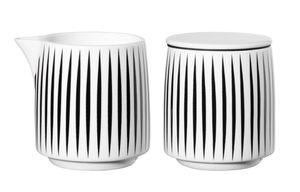 ASA Milch & Zucker Set, stripes MUGA D. 7,5 cm, H. 8,1 cm, 0,2 l. 29400082