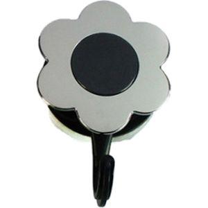 Kochblume Flower- Power- Haken - L - Silver Edition anthrazit