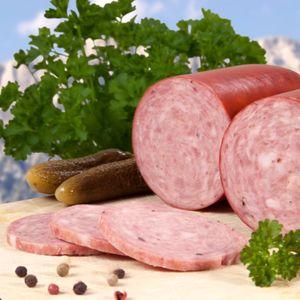 Food-United Gebirgssalami 300 g aus hochwertigem Schweinefleisch fein würzig