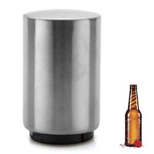 Automatischer  Flaschenöffner, Kapselheber Edelstahl, Bieröffner, witziges Grillzubehör & Küchenhelfer, lustiges Geschenk für Männer, Festival-Gadget