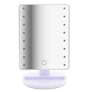 T24 LED Tageslicht Kosmetikspiegel 180° drehbar 16 LED-Leuchten