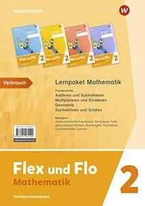 Flex und Flo - Ausgabe 2021: Paket Mathematik 2: Verbrauchsmaterial