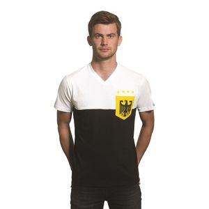 COPA T-Shirt Deutschland Pocket V-Neck weiß/schwarz XXL