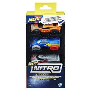 Hasbro C0777 - Nerf - Nitro Soft Racer 3er Pack