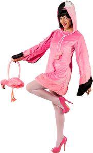 Damen Kostüm Flamingo Rosalie, Größe:42 / 44