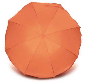 Heitmann Premium Sonnenschirm UV Schutz 50+ orange