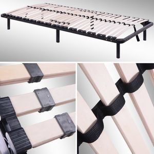 i-flair Lattenrost, Gästebett 100x200 cm - auf Füßen, für alle Matratzen geeignet