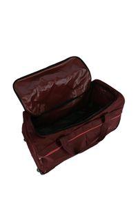 Travelite Basics Fast Duffel Trolley Reisetasche mit Rollen 096283, Farbe:Bordeaux