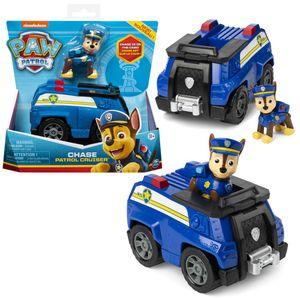 Auswahl Einsatzfahrzeuge | Basic Fahrzeuge mit Spielfiguren | Paw Patrol, Figur:Chase