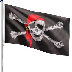 FLAGMASTER® Aluminium Fahnenmast Pirat 6,50m