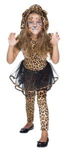 Kinder Kostüm Leopardin Fahed, Größe:128