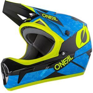 O'NEAL Fullfacehelm Sonus Deft , Blau Neongelb, S