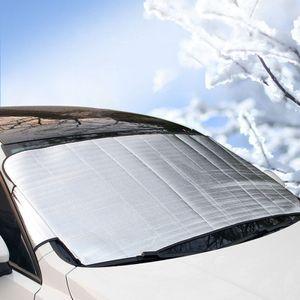 Frontscheibenabdeckung, Auto Scheibenabdeckung Autoabdeckung Eisschutzfolie, Autozubehör Winterschutz Faltbare Abnehmbare Windschutzscheiben für gegen Schnee, EIS, Frost, Staub, Sonne