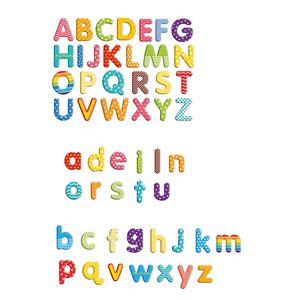 EDUPLAY 120509 Magnet-Buchstaben in Box, 100-teilig (Farbe zufällig, 1 Set)