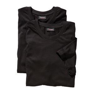 Redfield Doppelpack T-Shirts Übergröße schwarz, Größe:8XL