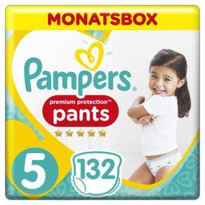 Pampers Premium Protection Pants Gr. 5 Junior 12-17kg Monatsbox, 132 Stück - Größe 5 - 132 Stück