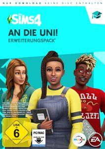 Die Sims 4 - An die Uni (Add-On) (CIAB) - CD-ROM DVDBox