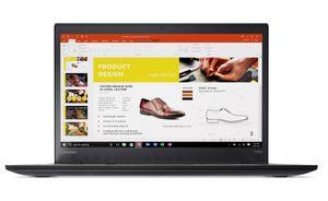 Lenovo ThinkPad T470s - 20JTS-CTO - Intel Core i5-6300U (2x 2,4 GHz) - (35,8cm) 14,1 Zoll TFT Display mit Touchscreen - 12 GB DDR4 (4 GB fest + 1 Steckplatz) - Windows 10 Pro - 64 Bit