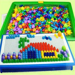 Melario Mosaik Steckspiel 592 Stecker Steckmosaik Spielzeug Geschenkset für Kinder
