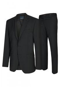 Daniel Hechter - Modern Fit - Herren Baukasten Anzug in Blau oder Schwarz  (7932), Größe:62, Farbe:Schwarz (90)