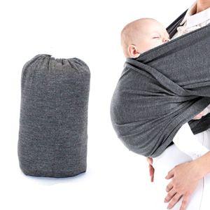 Vier Jahreszeiten Universal Babytragetuch, Baby Gürtel, dunkelgrau