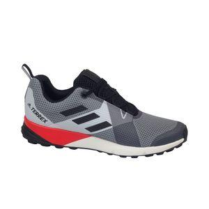 adidas Performance coole Herren Trekkingschuhe Terrex Two Grau Schuhe, Größe:41 1/3