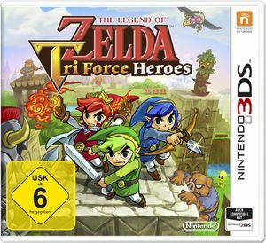 The Legend of Zelda - Tri Force Heroes - 3DS
