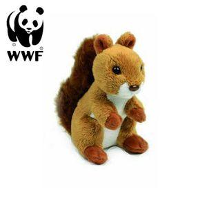 WWF Plüschtier Eichhörnchen (10cm) lebensecht Kuscheltier Stofftier