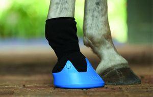 Behandlungsschuh TUBBEASE™ für Pferdehufe L Kerbl blau
