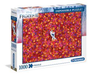 Clementoni 39526 Disney Frozen 2 Impossible 1000 Teile Puzzle