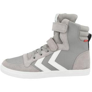 hummel Slimmer Stadil Kinder Leder High Sneaker alloy 38