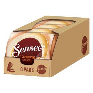 SENSEO Pads Typ Cappuccino Caramel Senseopads 40 Getränke Kaffeepads Softpads