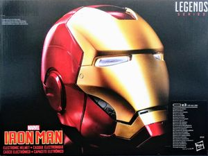 Hasbro - Marvel IRON MAN Collectible Helm - Legends Series