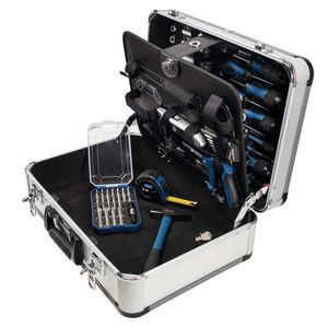 Scheppach 101 tlg. Werkzeugsatz TB150 mit Aluminiumkoffer