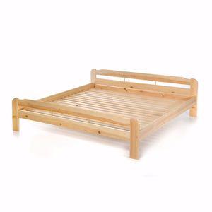 acerto® Doppelbett mit Lattenrost 200x200cm