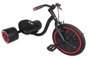 Dreirad Krunk Mini Drifter schwarz-rot