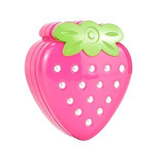 Süße Erdbeerförmige Kosmetik Spielset Fashion Makeup Kit Für Mädchen Spielzeug