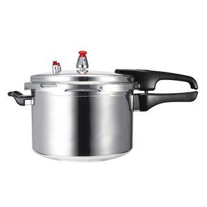 Schnellkocher Kochtopf Druckkochtopf Dampfkocher Dampfgarer Bergner 6.3L DE