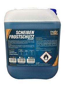 INOX® Arctic Scheibenfrostschutz Konzentrat, 10L - Scheiben Frostschutzmittel Scheibenreiniger bis -35°C