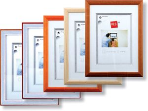 KLS Kunststoffrahmen Alu-Decor 13x18 cm