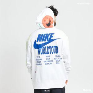 Nike M Nsw Po Ft Hoodie Wtour White Xl