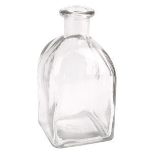 Glasfläschchen im Landhausstil  12er Set H 13cm
