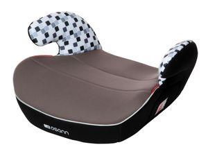 Osann Kindersitz , Sitzerhöhung Junior Cube Black / Brown - Anatomisch geformt - Befestigungsart 3-Punkt-Gurt - 15 bis 36 kg (3 bis 12 Jahre) - schwarz ,  grau
