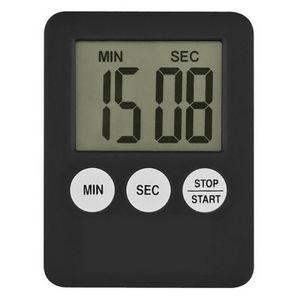 LED Kücheneier Kochen Digital Timer Countdown Uhren Lauter Alarm Stoppuhr Zeitschaltuhr Farbe: Schwarz