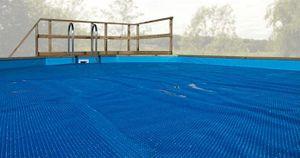 Wärmeplane für Weka Pool 594 Gr.1 blau 714x376cm