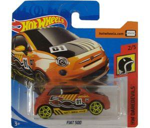 Hot Wheels - Fiat 500 Modellauto
