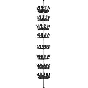 tectake Schuhkarussell - schwarz