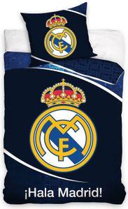 Real Madrid - Fußball Bettwäsche-Set, 135x200 & 80x80 cm